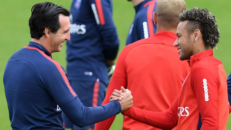 Unai Emery Neymar PSG Ligue 1
