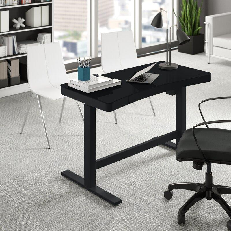 The standing desk you've been meaning to get forever—$150 off. (Photo: Wayfair)