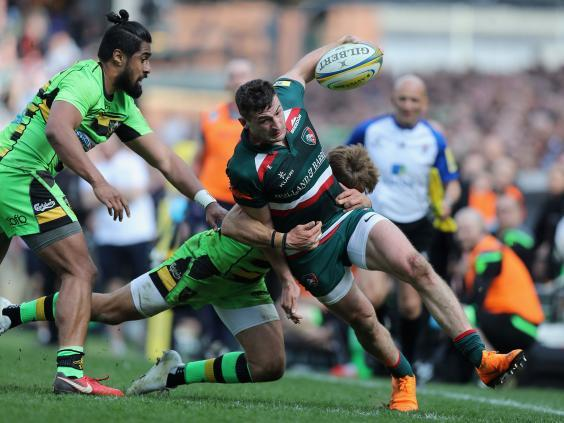 Jonny May left Leicester Tigers to return to Gloucester (Getty)