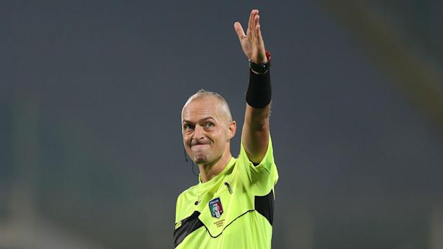 Luca Pairetto referee, Serie A, 24092017