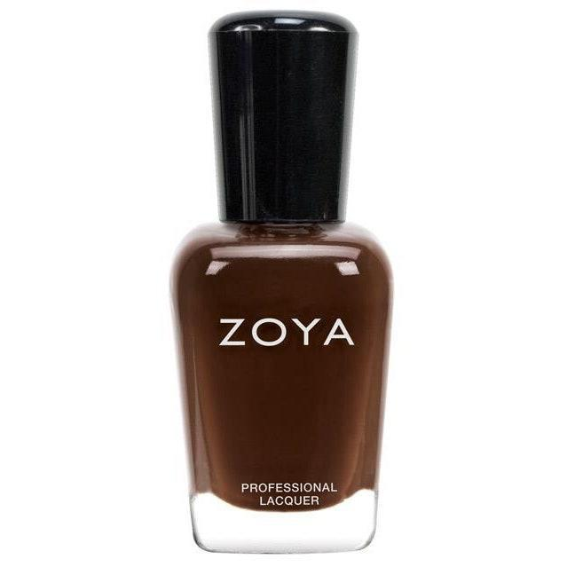 """<p>This rich brown shade will definitely have your sweet tooth craving dessert. """"Zoya Louise is a creamy chocolate color that's beautiful on <a href=""""https://www.allure.com/story/nude-nail-polish-for-darker-skin-tones?mbid=synd_yahoo_rss"""" rel=""""nofollow noopener"""" target=""""_blank"""" data-ylk=""""slk:darker skin tones"""" class=""""link rapid-noclick-resp"""">darker skin tones</a>,"""" says Inzerillo. </p> <p><strong>$10</strong> (<a href=""""https://shop-links.co/1720227079324263766"""" rel=""""nofollow noopener"""" target=""""_blank"""" data-ylk=""""slk:Shop Now"""" class=""""link rapid-noclick-resp"""">Shop Now</a>)</p>"""