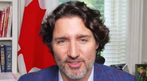 Prime Minister Justin Trudeau says he's keeping an eye on flight prices to ensure residents of Newfoundland and Labrador won't face a spike as the country reopens.  (St. John's Board of Trade - image credit)