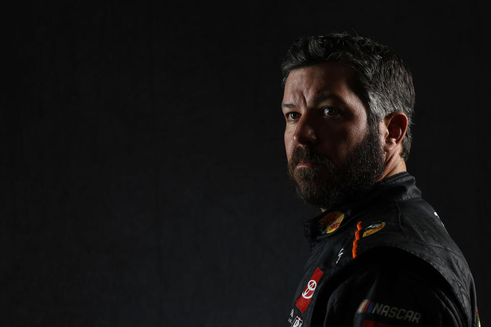 CHARLOTTE, NORTH CAROLINA - JANUARY 20: NASCAR driver Martin Truex Jr. poses for a photo during the 2021 NASCAR Production Days at FOX Sports Studios on January 20, 2021 in Charlotte, North Carolina. (Photo by Jared C. Tilton/Getty Images) | Getty Images