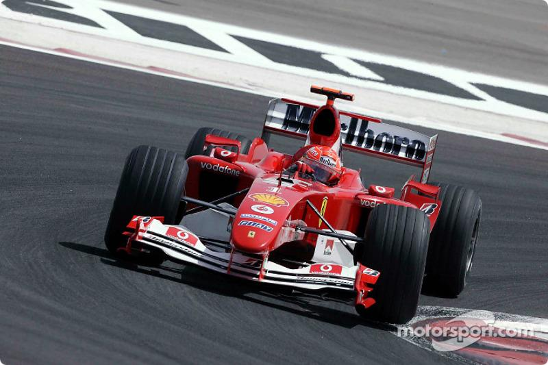 "2004: Ferrari F2004<span class=""copyright"">Bridgestone Corporation</span>"