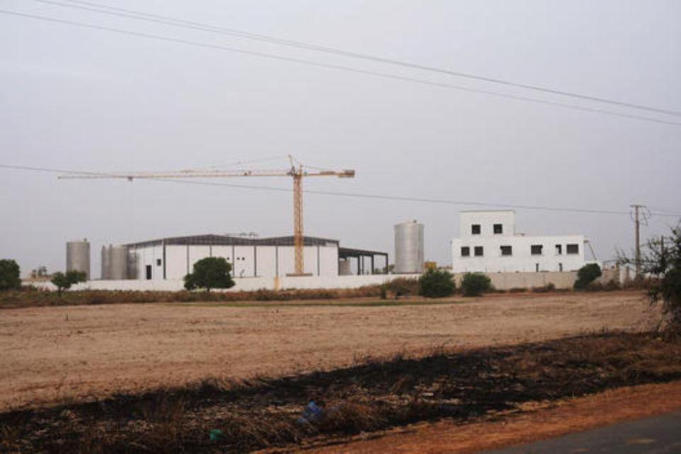 Fishmeal factory