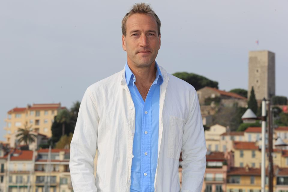 British broadcaster, writer and adventurer Ben Fogle poses during a photocall for a TV serie