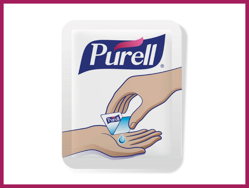 Purell Singles Advanced Hand Sanitizer Gel (500-pack). (Photo: Amazon)