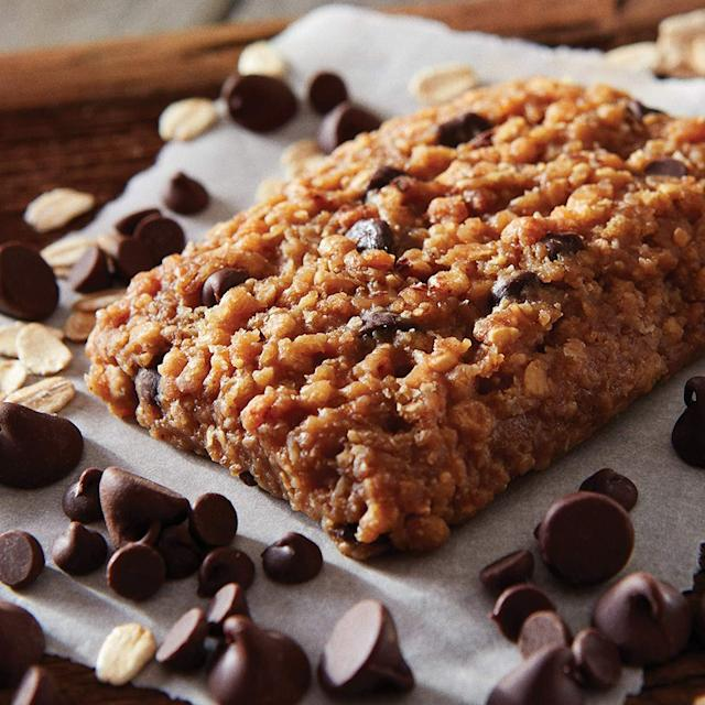 Clif Bars are made with real chocolate, non-GMO dried fruits and organic rolled oats. (Photo: Amazon)