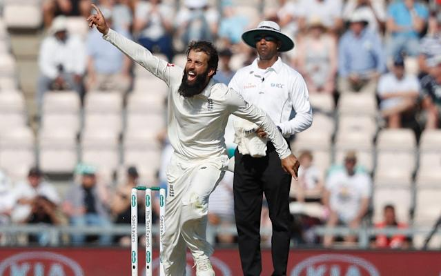 It's time for Moeen Ali to step up to his status as England's number one spinner - AP
