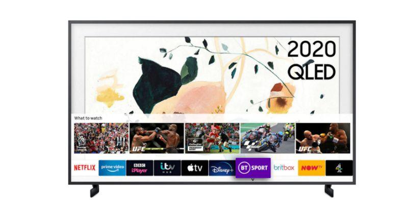 Samsung The Frame (2020) QLED Art Mode TV with No-Gap Wall Mount, 50 inch