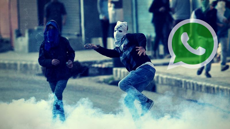 300 WhatsApp Groups Used to Mobilise Stone-Pelters in Kashmir