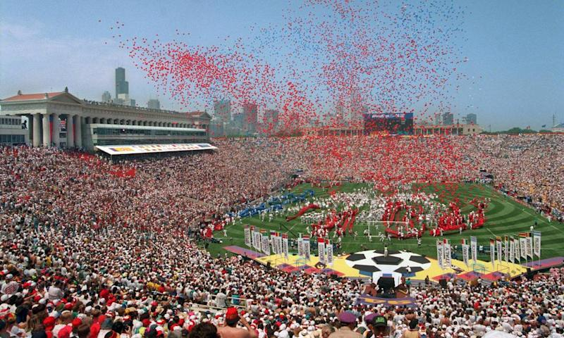 Chicago hosted the opening game of the 1994 World Cup. The city will play no part in the 2026 North American bid.