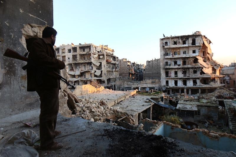 More than 260,000 people have died since Syria's conflict erupted in March 2011 (AFP Photo/Zein al-Rifai)