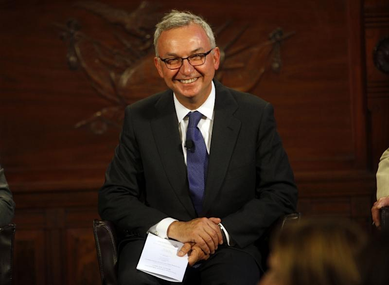 The most spectacular fall concerned Jose Baselga, chief medical officer at Memorial Sloan Kettering Cancer Center in New York (AFP Photo/THOS ROBINSON)