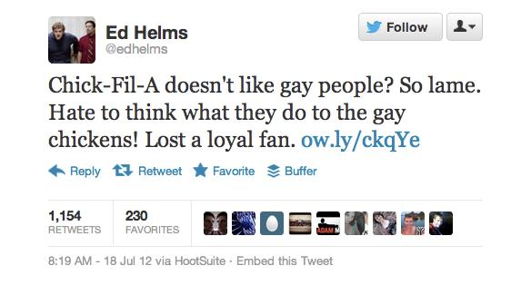 Chick-Fil-A Faces Gay Marriage Backlash on Twitter, Facebook