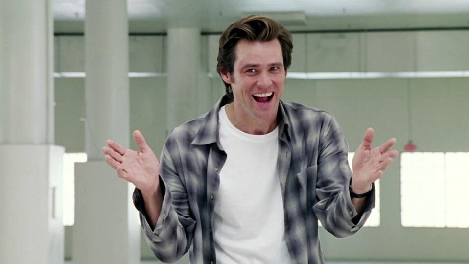 Jim Carrey in 'Bruce Almighty'. (Credit: Buena Vista)