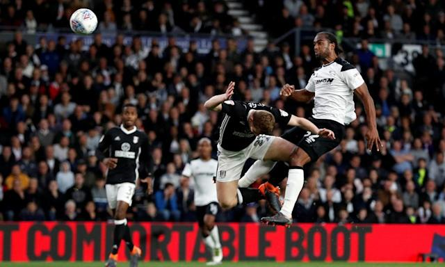 Cameron Jerome header gives Derby slender advantage over Fulham