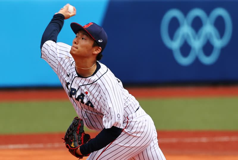 Baseball - Men - Opening Round - Group A - Dominican Republic v Japan
