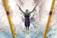 <p>TOKYO, JAPAN - JULY 27: Regan Smith of Team United States competes in heat one of the Women's 200m Butterfly on day four of the Tokyo 2020 Olympic Games at Tokyo Aquatics Centre on July 27, 2021 in Tokyo, Japan. (Photo by Maddie Meyer/Getty Images)</p>