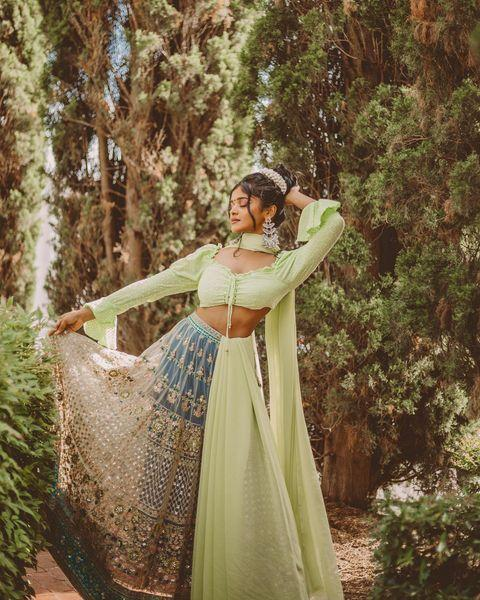 "<p>""Indo-western"" style is Jayadevan's specialty, which means she's a pro at combining the best parts of traditional Indian fashion and Western trends. The results? Vibrant looks you can wear on the daily.</p><p><a href=""https://www.instagram.com/p/CCGtmgbpO5q/?utm_source=ig_web_copy_link"" rel=""nofollow noopener"" target=""_blank"" data-ylk=""slk:See the original post on Instagram"" class=""link rapid-noclick-resp"">See the original post on Instagram</a></p>"