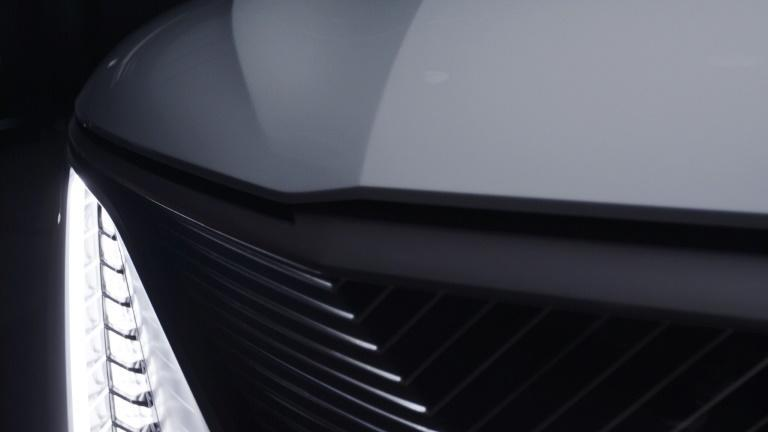 GM offered a preview of the Cadillac CELESTIQ electric vehicle at the CES