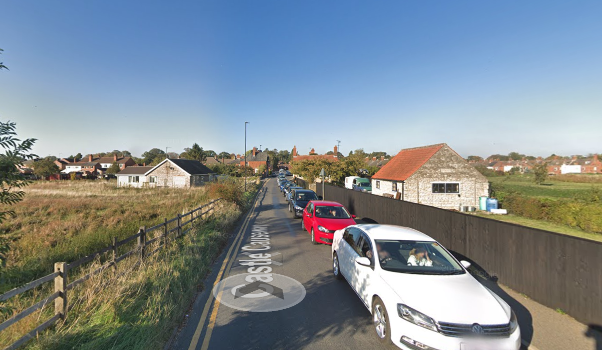 Castle Causeway in Sleaford, where police were called to reports of an assault on Friday night just before 8.45pm. (Google Maps)