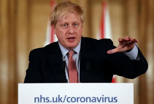 Boris Johnson has not spoken to the public about coronavirus since Thursday. (AFP via Getty Images)