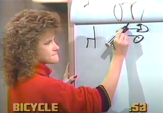 <p>This late '80s game show brought Pictionary to life. The show brought some big names, like Betty White and Burt Reynolds to play the game. Two teams of celebrities and everyday contestants had to guess what their teammate was drawing. Two additional versions of the show appeared on the Disney Channel.</p>