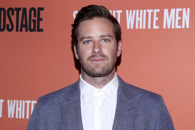 NEW YORK, NY- July 23: Armie Hammer arrives for the opening night party for Straight White Men, held at DaDong restaurant, on July 23, 2018, in New York City. Credit: Joseph Marzullo/MediaPunch /IPX