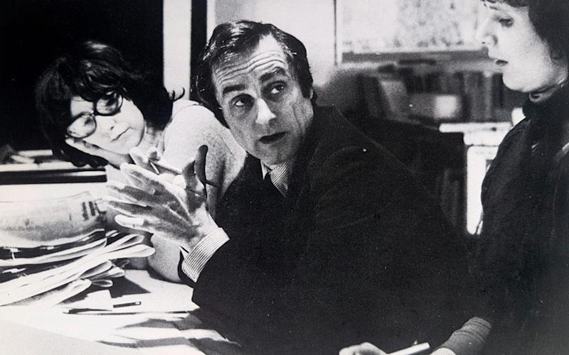 Sir Harold Evans and Marjorie Wallace spent years working together at The Sunday Times - Marjorie Wallace