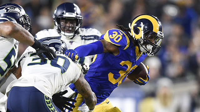 """NFL Network's """"The Aftermath"""" crew breaks down the Los Angeles Rams' win over the Seattle Seahawks in Week 14."""