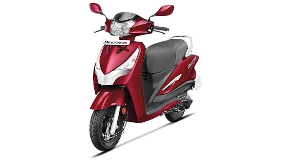 Hero Destini 125 scooter available with benefits worth Rs. 3,000