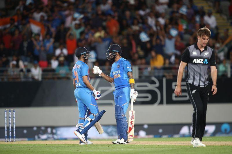 Shreyas Iyer and KL Rahul put on a match-winning partnership in the second T20I