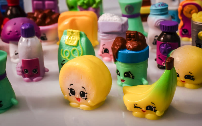 <p>From miniature supermarkets to faux food, children can build their own creations with Shopkins. <em>[Photo: Getty]</em> </p>