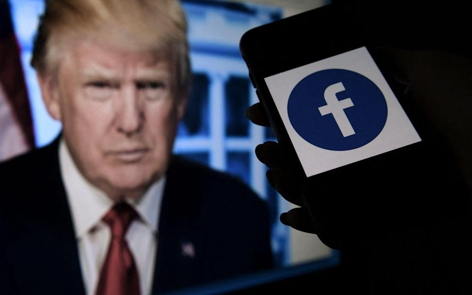 Facebook's independent oversight board was set for a momentous decision on the platform's ban of former US president Donald Trump - AFP