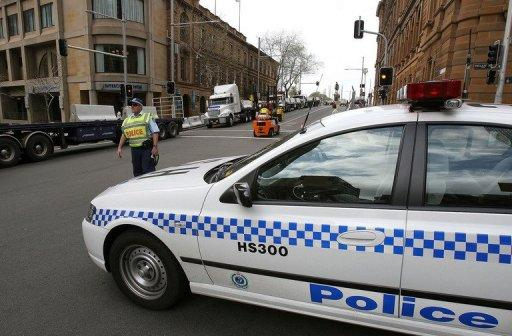 File illustration photo shows a police car in Sydney