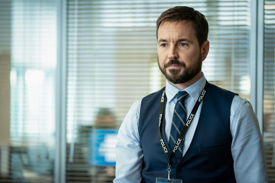 WARNING: Embargoed for publication until 00:00:01 on 16/03/2021 - Programme Name: Line of Duty S6 - TX: n/a - Episode: Line Of Duty - Ep 1 (No. n/a) - Picture Shows:  DS Steve Arnott (MARTIN COMPSTON) - (C) World Productions - Photographer: Steffan Hill