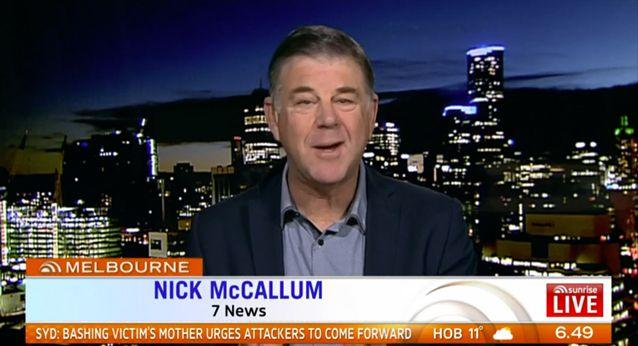 It's a time-honoured tradition, says Nick McCallum. Source: Sunrise