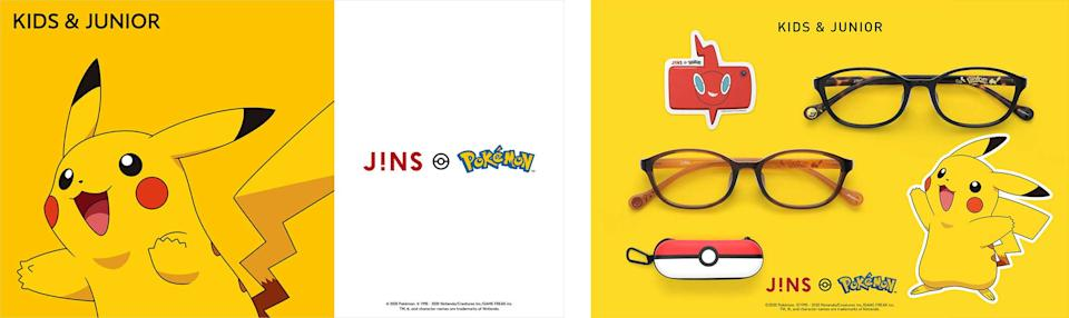 Frames inspired by the world of Pokémon