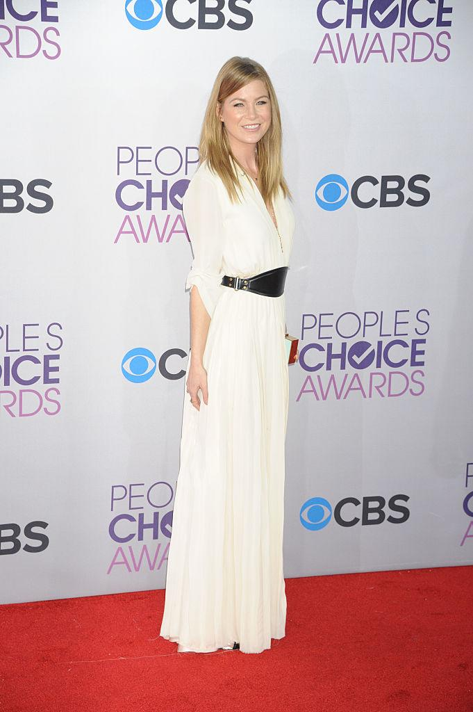 We are madly in love with Ellen Pompeo's Lanvin dress from 2013. (Photo: Getty Images) (Photo: Getty Images)
