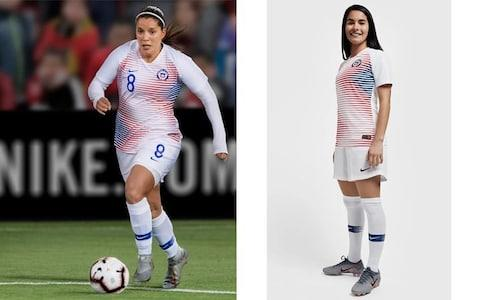 Chile away kit, Women's World Cup 2019 - Credit: NIKE