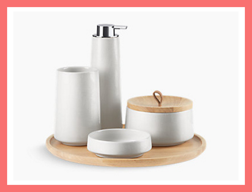 Bente 5-Piece Accessory Set. (Photo: Kohler)