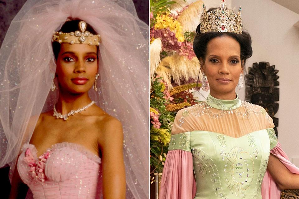 <p>Then Prince Akeem's well-to-do bride in her very first feature film role, Headley moved on to TV work — notably a handful of soaps — before rejoining her costars for <em>Coming 2 America.</em></p>
