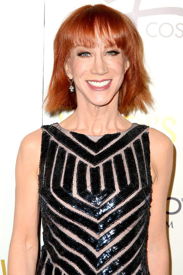 Comedian Kathy Griffin's new photo is causing a stir. (Photo: Tasia Wells/WireImage)