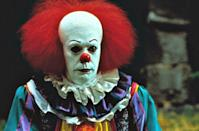 <p><strong>IMDb says:</strong> In 1960, seven pre-teen outcasts fight an evil demon who poses as a child-killing clown. Thirty years later, they reunite to stop the demon once and for all when it returns to their hometown.</p><p><strong>We say:</strong> The new film will never compare to the terror of Pennywise circa 1990.</p><p><strong>Who's it in? </strong>Tim Curry, Emily Perkins</p>
