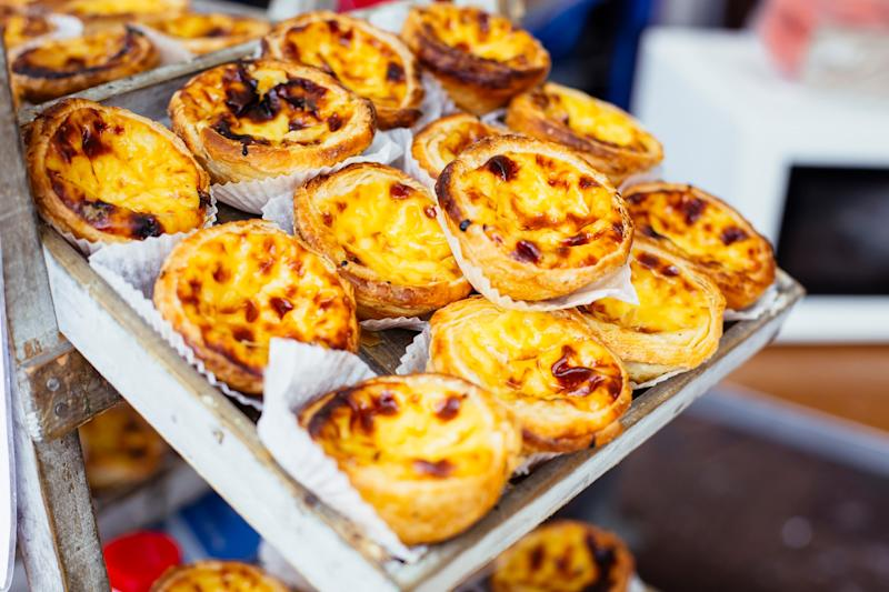 Delicious Pasteis de Nata - getty