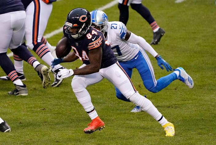 Cordarrelle Patterson played multiple roles with the Bears but is now on his way to the Falcons.