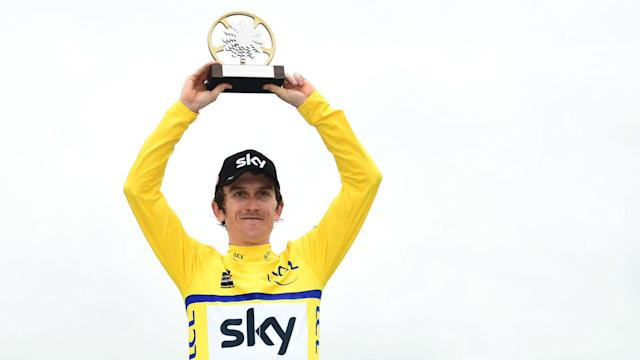 There was more success for Team Sky at the Criterium du Dauphine as Geraint Thomas prevailed.