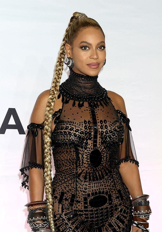 Bey slays with nine 2017 Grammy nominations! Photo: Getty Images