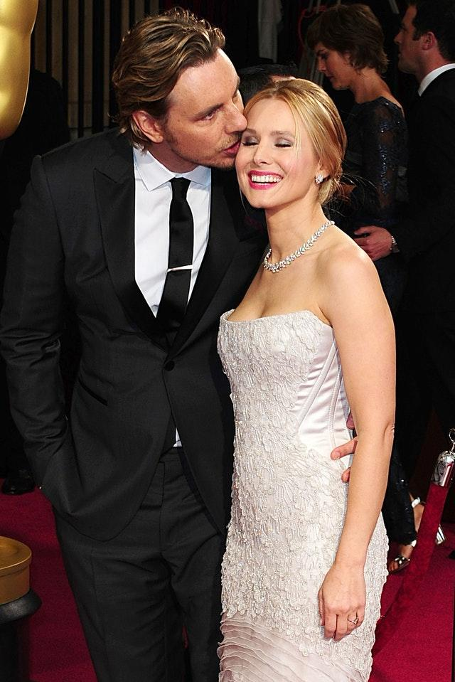 Hollywood star Kristen Bell and her husband Dax Shepard (Ian West/PA)